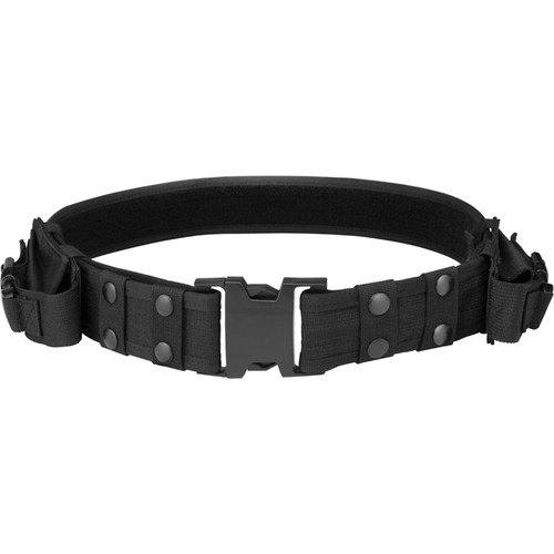 Barska CX-600 Loaded Gear Tactical Belt (Black)