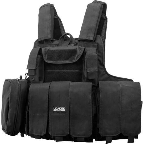 Barska Loaded Gear VX-300 Tactical Vest (Black)