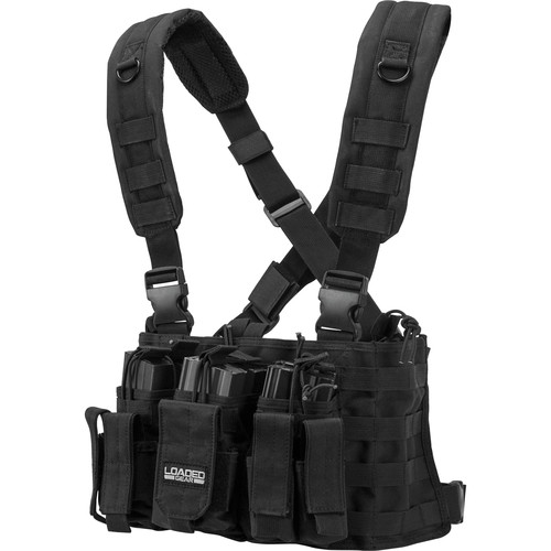 Barska Loaded Gear VX-400 Tactical Chest Rig (Black)
