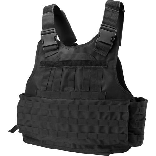 Barska Loaded Gear VX-500 Plate Carrier Tactical Vest (Black)