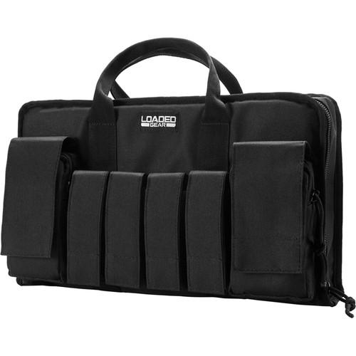 "Barska Loaded Gear RX-50 16"" Tactical Pistol Bag (Black)"
