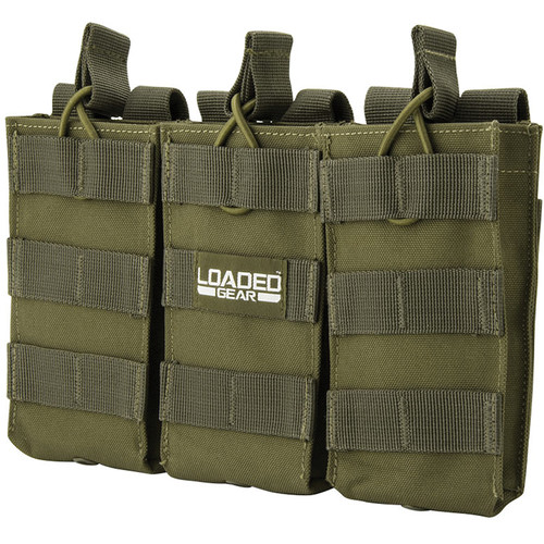 Barska CX-200 Loaded Gear Triple Magazine Pouch (OD Green)