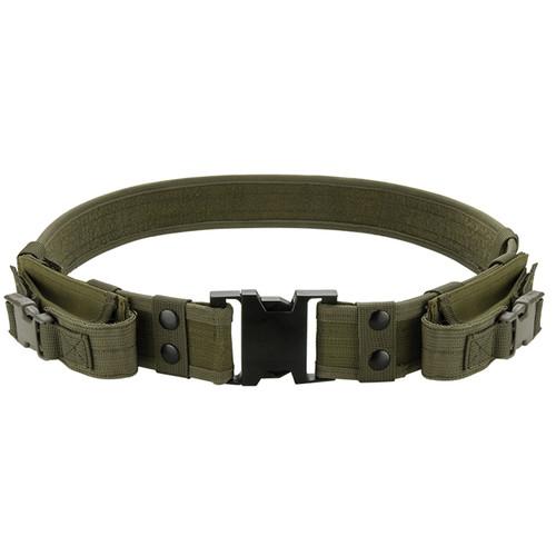 Barska CX-600 Loaded Gear Tactical Belt (OD Green)
