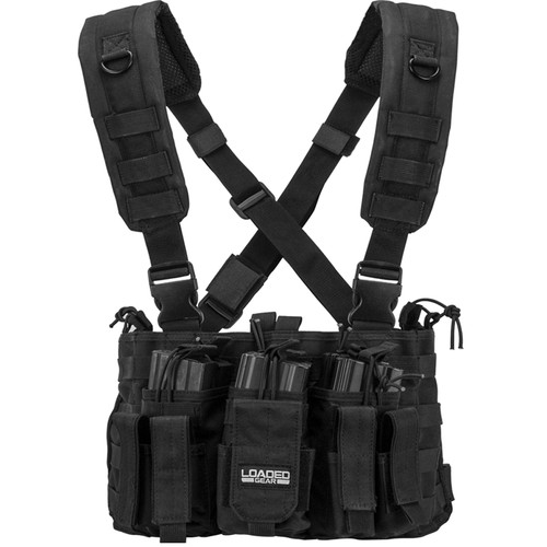 Barska Loaded Gear VX-400 Tactical Chest Rig (OD Green)