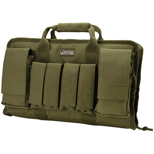 "Barska Loaded Gear RX-50 16"" Tactical Pistol Bag (OD Green)"