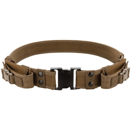 Barska CX-600 Loaded Gear Tactical Belt (Dark Earth)