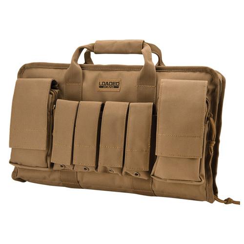 """Barska Loaded Gear RX-50 16"""" Tactical Pistol Bag (Dark Earth)"""