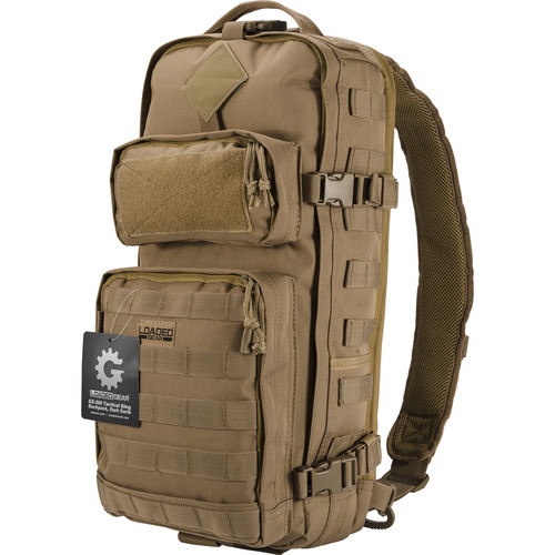 Barska GX-300 Loaded Gear Sling Backpack (Dark Earth)