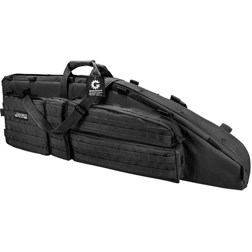 "Barska Loaded Gear RX-600 46"" Tactical Rifle Bag (Black)"