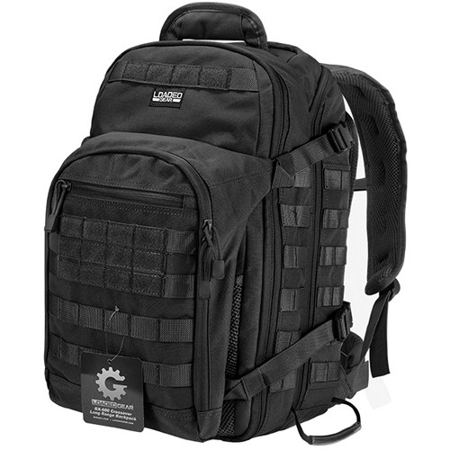 Barska Loaded Gear GX-600 Crossover Backpack (Black)