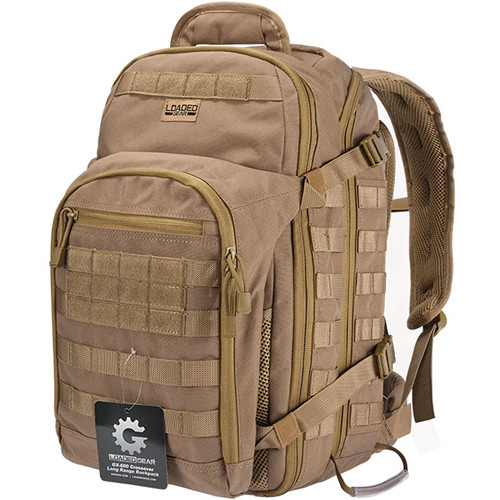 Barska Loaded Gear GX-600 Crossover Backpack (Flat Dark Earth)