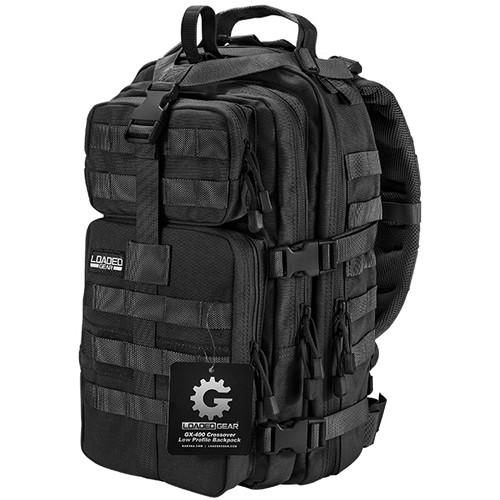 Barska Loaded Gear GX-400 Crossover Backpack (Black)