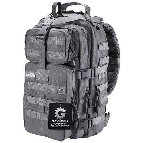 Barska Loaded Gear GX-400 Crossover Backpack (Gray)