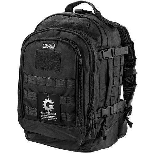 Barska Loaded Gear GX-500 Crossover Backpack (Black)