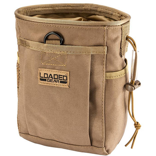 Barska Loaded Gear CX-700 Drawstring Dump Pouch (Flat Dark Earth)