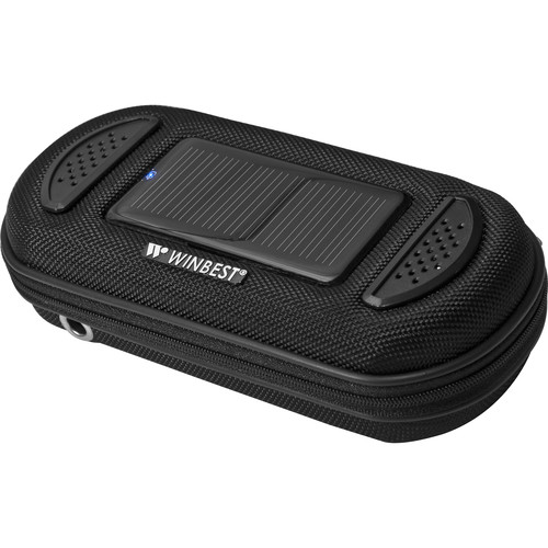 Barska Portable Solar Charger Case with Speaker