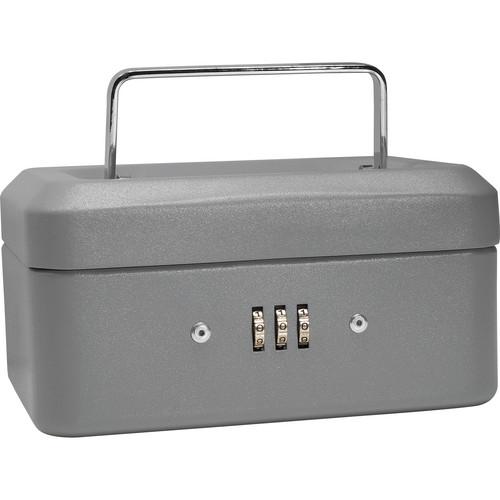 "Barska 6"" Cash Box with Combination Lock (Gray)"