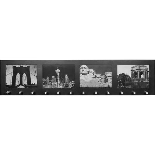 """Barska 4-Section 4x6"""" Picture Frame / Key Holder"""
