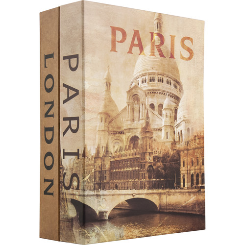 Barska Paris and London Dual Book Lock Box with Key Lock