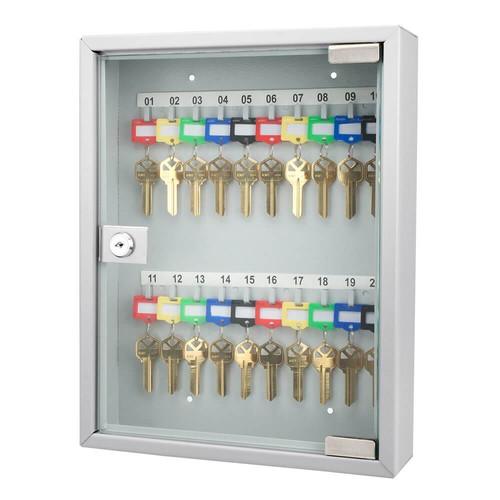Barska 20-Position Glass Key Cabinet