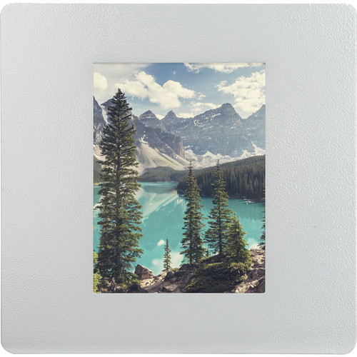 """Barska 4x6"""" Picture Wall Mount Photo Frame Cabinet (White)"""