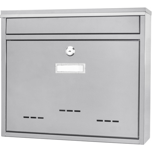Barska Locking Wall Mount Mailbox (Medium, White)