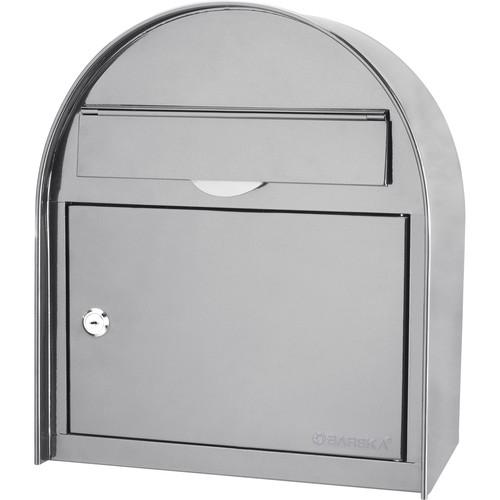 Barska Locking Wall Mount Mailbox (Large, White)
