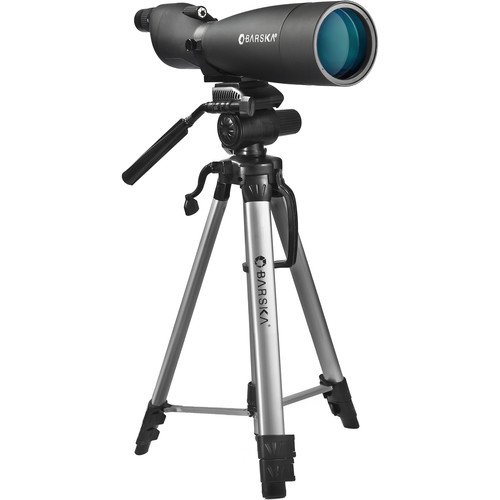 Barska Colorado 30-90x90mm WP Spotting Scope Kit (Straight Viewing)