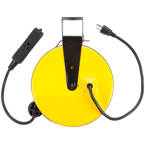Bayco Products Retractable AC Extension Cord Reel (16 AWG, 30')