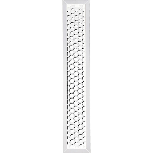 BB&S Lighting White Honeycomb Grid for Pipeline
