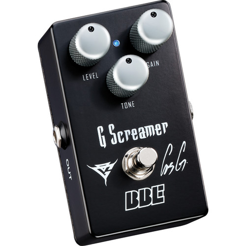 BBE Sound G Screamer OG-1 Gus G Signature Overdrive Pedal