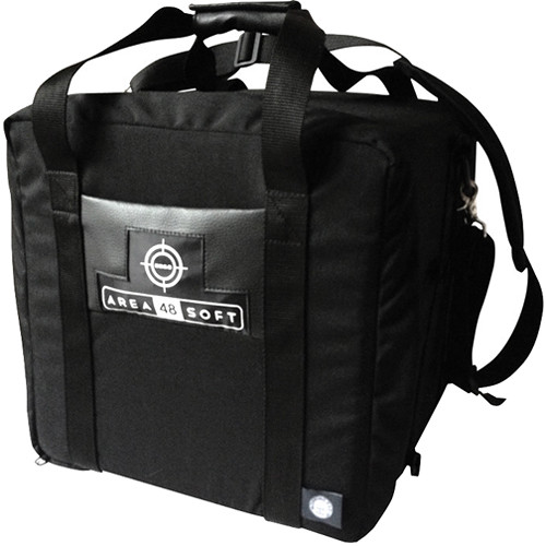 BB&S Lighting Area 48 LED 2 Light Padded Nylon Carrying Case (Black)