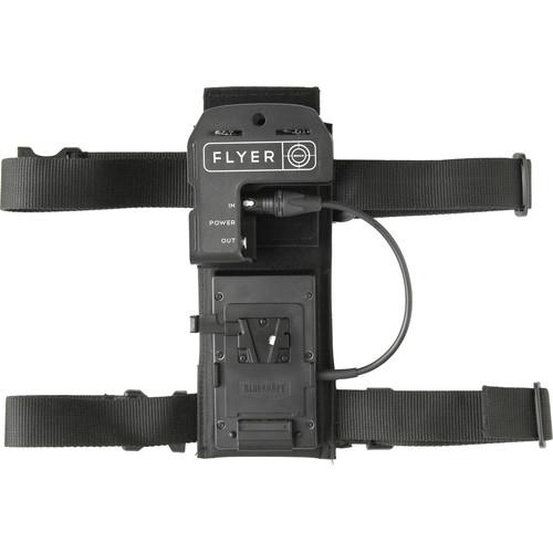 BBS Lighting Flyer LED Integrated Belt Pack with Gold Mount