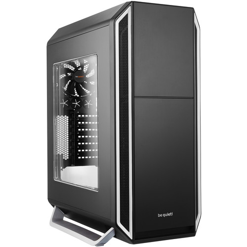 be quiet! Silent Base 800 Mid-Tower Case (Window, Silver)