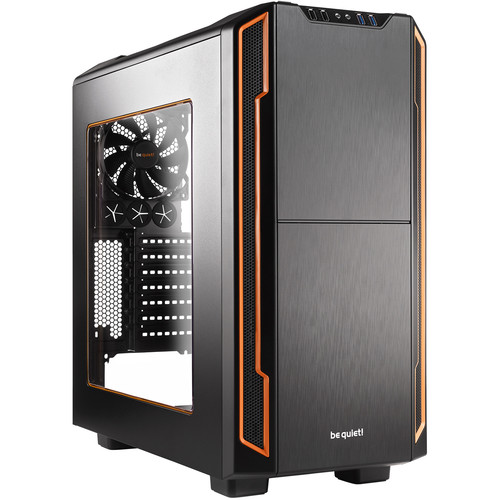 be quiet! Silent Base 600 Mid-Tower Case (Orange)