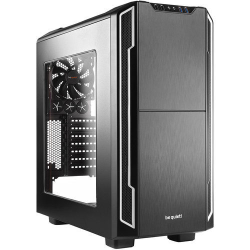 be quiet! Silent Base 600 Mid-Tower Case (Silver)