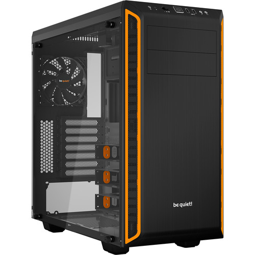 be quiet! Pure Base 600 Mid-Tower Case (Window, Orange)