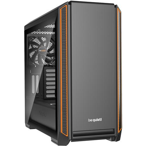 be quiet! Silent Base 601 Window Mid-Tower ATX Case (orange)