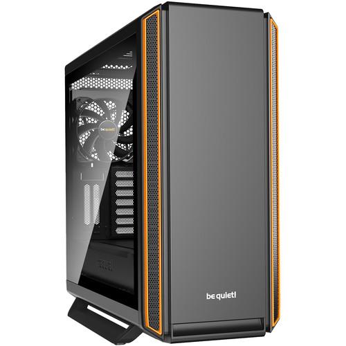 be quiet! Silent Base 801 Window Mid-Tower ATX Case (Orange)