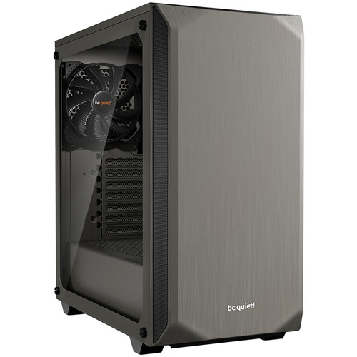 be quiet! Pure Base 500 Mid-Tower Case (Window, Metallic Gray)