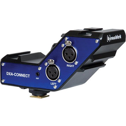 Beachtek DXA-CONNECT XLR Adapter / Bracket Combo