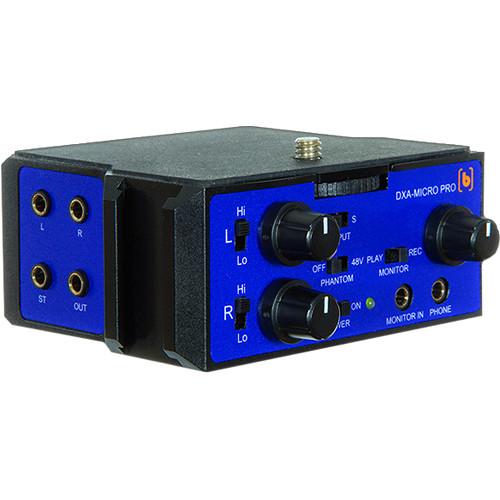 Beachtek DXA-MICRO-PRO Active XLR Compact Adapter