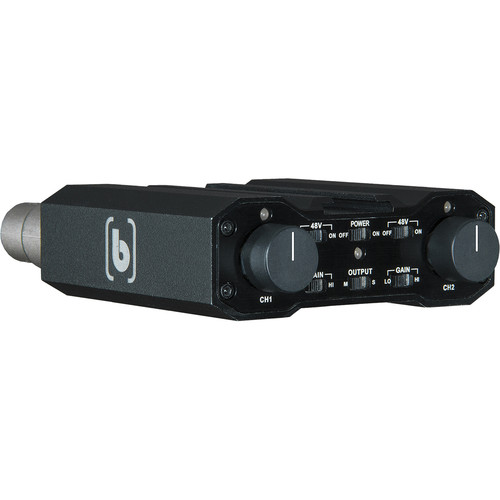 Beachtek DXA-RED 2-Channel Preamplifier with Phantom-Powered XLR Inputs for RED Cameras