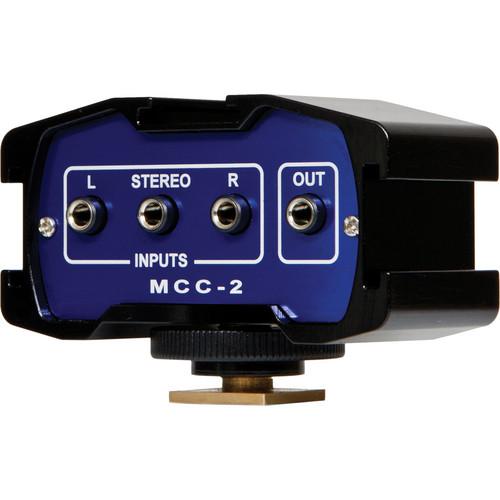 Beachtek MCC-2 2-Channel Audio Adapter and Bracket