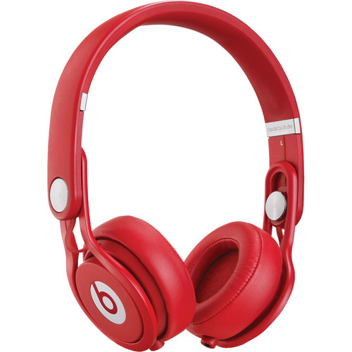 Beats by Dr. Dre Mixr - Lightweight DJ Headphones (Red)