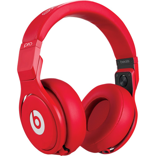 Beats by Dr. Dre Pro - High-Performance Studio Headphones (Red)