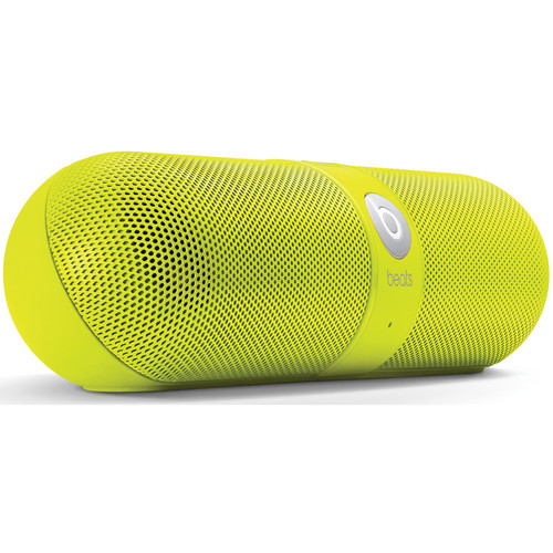 Beats by Dr. Dre pill Portable Speaker (Neon Yellow)