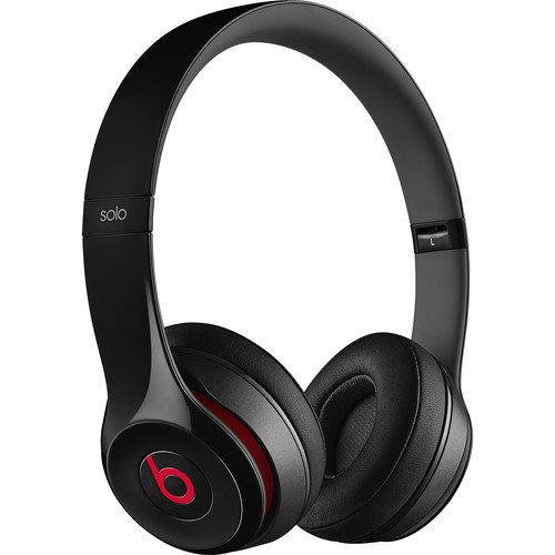 Beats by Dr. Dre Solo2 Wired On-Ear Headphones (Black)