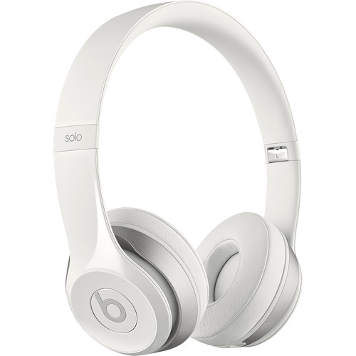 Beats by Dr. Dre Solo2 On-Ear Headphones (White)