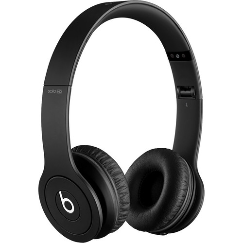 Beats by Dr. Dre Solo HD On-Ear Headphones (Drenched in Black)